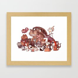 Cool Cats Framed Art Print