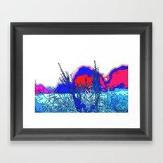 In-Country Framed Art Print