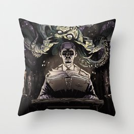 The Summoner Throw Pillow