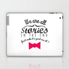 stories-doctor who Laptop & iPad Skin
