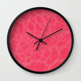 Pattern SPOTS Pinkish Wall Clock