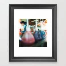Color Framed Art Print