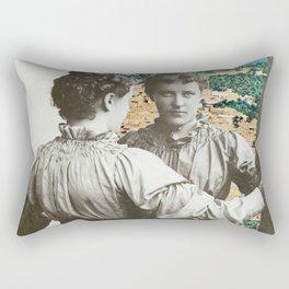 Same Origins Rectangular Pillow