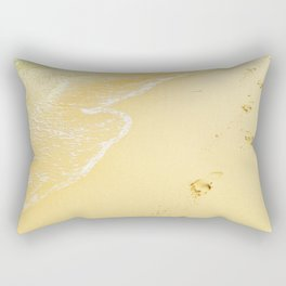 Sandy Feet Rectangular Pillow
