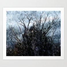 Winter thing Art Print