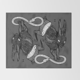 THE MAGICIAN Throw Blanket