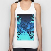 """angels Tank Tops featuring """" 3 Angels """" by shiva camille"""