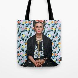 Flowers Frida Kahlo IV Tote Bag
