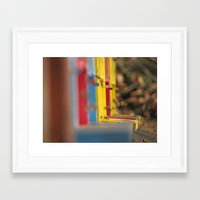 bees Framed Art Prints featuring BEES by Sofia Youshi