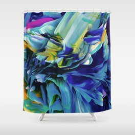 Furious Fantasy Shower Curtain