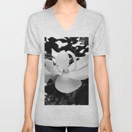 Magnolia Blossom Unisex V-Neck