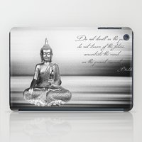 buddha iPad Cases featuring Buddha by Fine Art by Rina
