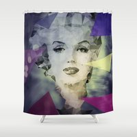 marilyn Shower Curtains featuring Marilyn by Esco