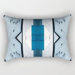Shadow Play Abstract Rectangular Pillow