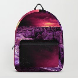 Galaxy Mountains  Backpack