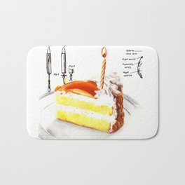 Birthday Cake Bath Mat