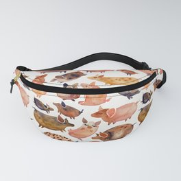 Pig Collection Fanny Pack