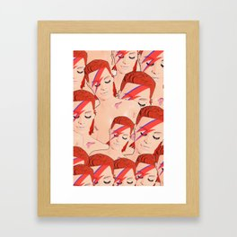 Zowie Bowies! Framed Art Print