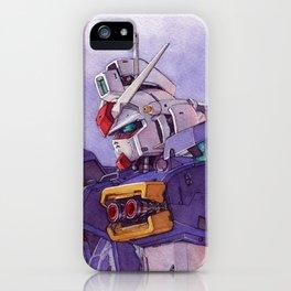 Gundam GP01 iPhone Case