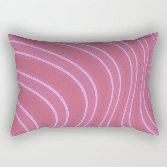 Abstract purple pattern . Rectangular Pillow