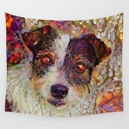 Terrier Cutie Wall Tapestry