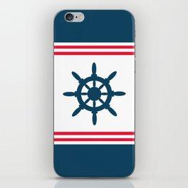 Sailing wheel iPhone Skin