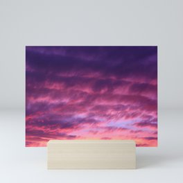 Pink & Purple Sunset Mini Art Print
