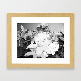 Stop n smel the flowers Framed Art Print