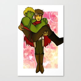Young Avengers: Billy and Teddy Canvas Print