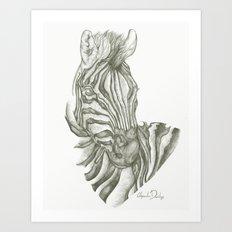 Zed Art Print