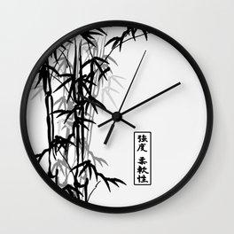 強度 柔軟性 (strength, flexibility) Wall Clock