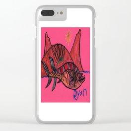 Cretaceous Mawsonia Clear iPhone Case