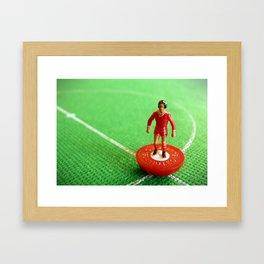 Liverpool Subbuteo Player 1986 Framed Art Print