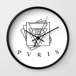 pvris ( cvlt) Wall Clock