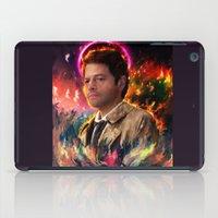 castiel iPad Cases featuring Castiel by ururuty