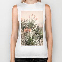Cactus Blooms 2 Biker Tank