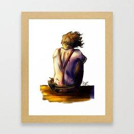 Leo Alone Framed Art Print