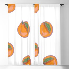 Peaches || Blackout Curtain
