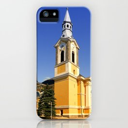 The village church of Niederkappel | architectural photography iPhone Case