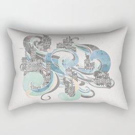 Salann - Salt City Rectangular Pillow