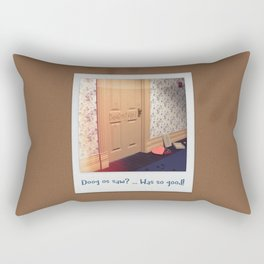 Doog os saw? … Was so good! Rectangular Pillow