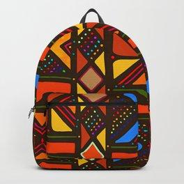 African Style No6, Sahara Desert Backpack