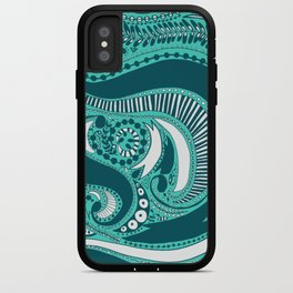 Majorie Blue iPhone Case