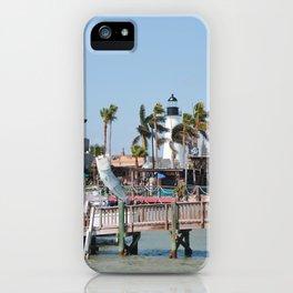Port Isabel Lighthouse iPhone Case