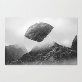 Surreal Hill Landscape Canvas Print