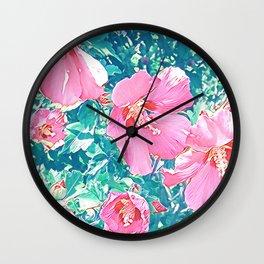 Floral Joy 3192 Wall Clock
