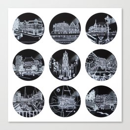 2014 Utrecht BOX SET Canvas Print