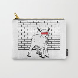Brave Little Lamb Carry-All Pouch