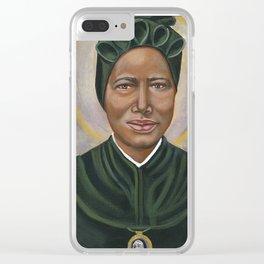 Saint Josephine Bakhita Clear iPhone Case