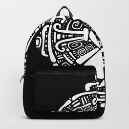 Hunab Ku.  Mayan symbol. Hand Drawn detailed pattern. Backpack